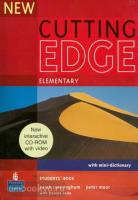 New Cutting Edge Elementary. Student's Book + CD-ROM (Pearson)