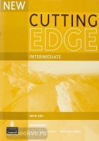 New Cutting Edge intermediate. Workbook + key (Pearson)