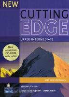 New Cutting Edge Up-intermediate. Student's Book + CD-ROM (Pearson)