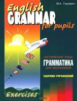 Гацкевич. Грамматика английского языка. Сборник упражнений для школьников. Самолет. Книга 4 (Каро)